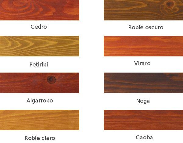 Colores de tintes