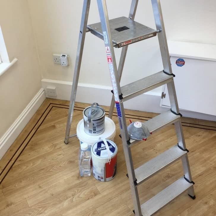 Escaleras Para Pintar Tijera Dobles Y De Apoyo