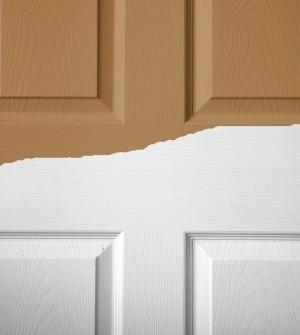 Fondo sint tico para maderas - Pintar puertas de blanco ...