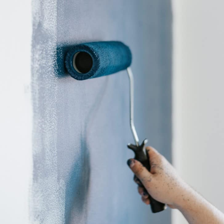 Rodillo para pintar pared