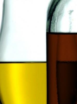 Aceites de lino y teka