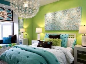 Combinaciones de colores con verde manzana