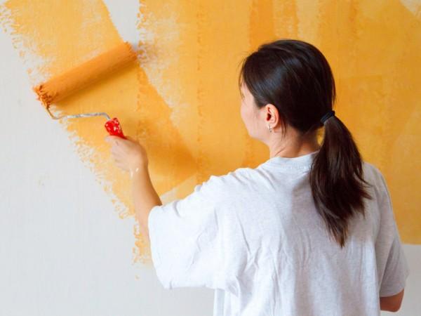 C mo pintar las paredes interiores - Como pintar las paredes ...