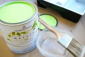 Pintura verde