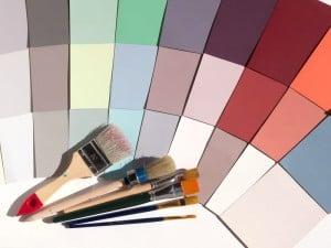 Carta de colores pasteles para interior