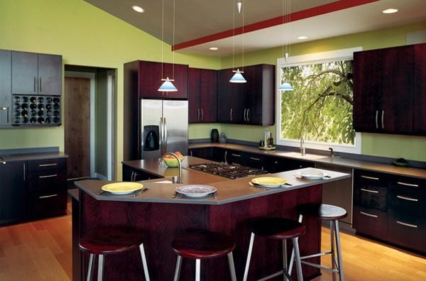 C mo escoger los colores para pintar una cocina for Colores para gabinetes de cocina
