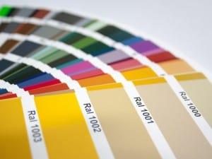 Qué es la carta o sistema de colores RAL