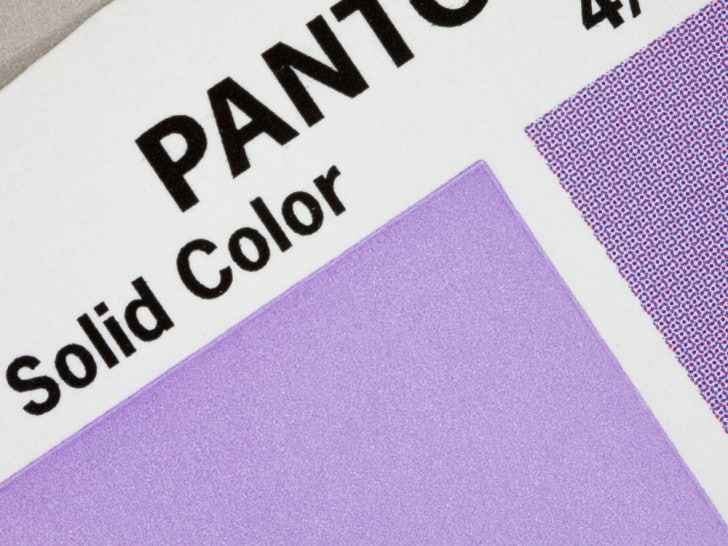 Pantone solid color
