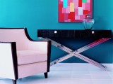 Combinar el color de las paredes con los muebles