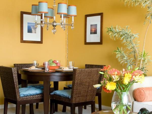 Colores para las paredes del comedor for Colores para cocina comedor