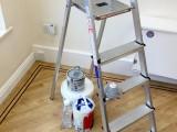 Seguridad al manipular pinturas y herramientas
