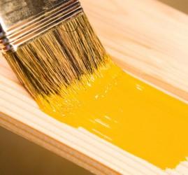 madera pintada