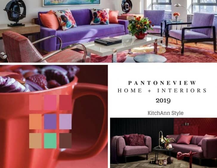 Decoración de interiores Pantone