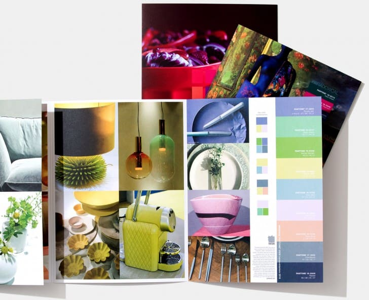 PANTONE VIEW home interiors