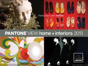 PANTONE VIEW home + interiors 2013
