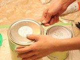 Cómo guardar una lata con sobrante de pintura