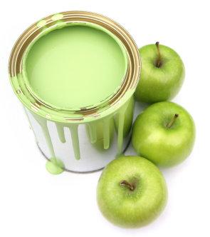 Pintura manzana
