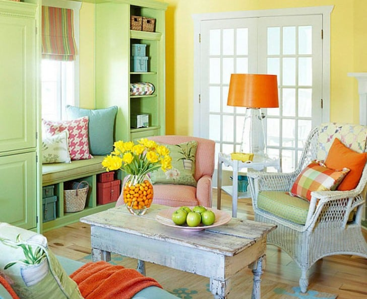 rústico colores citricos