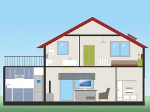 Los tipos de pintura para cada sector de la casa