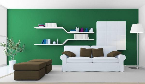 Verdes c lidos medios y fr os para tus interiores Colores minimalistas para interiores