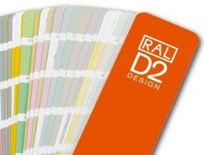 Sistema de colores RAL Design