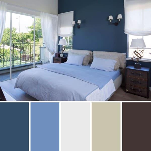 Color navy un azul oscuro agrisado - Colores pared dormitorio ...