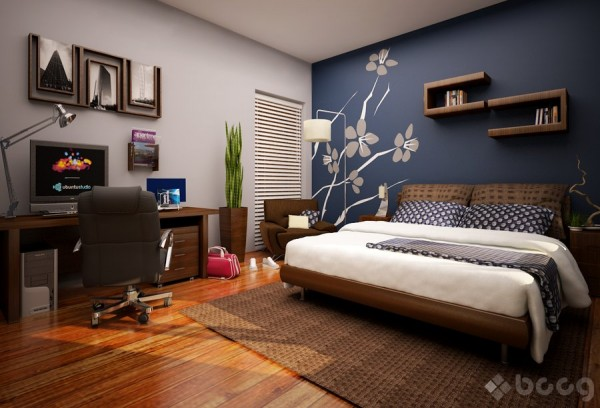 Distintos tonos de azul para pintar tu casa : PintoMiCasa.com