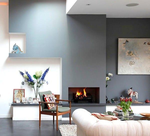 Interior gris satinado