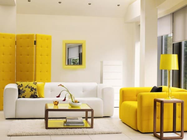 Living amarillo