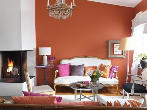 Pintura color terracota o teja for Decoracion de interiores y exteriores