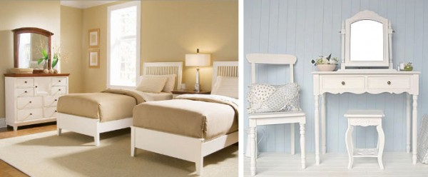 Muebles blancos f ciles de combinar - Muebles de colores pintados ...