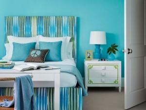 Color turquesa, recomendaciones al pintar los interiores de casa