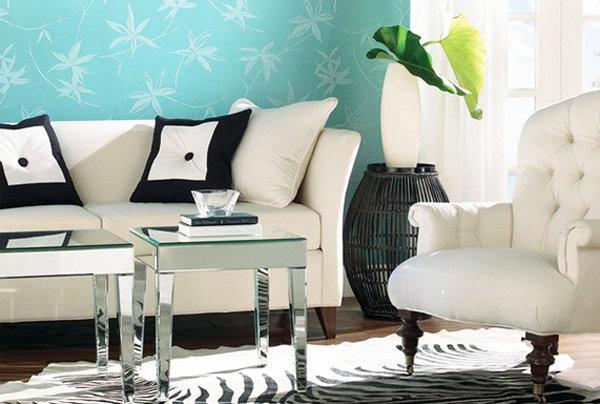 Distintos tonos de azul para pintar tu casa for Decoracion en tonos turquesa