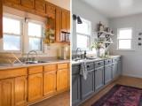 Remodelar la cocina con pintura y poco más