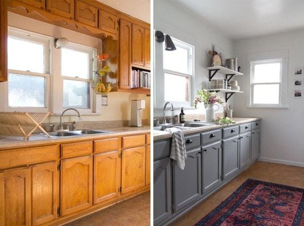 remodelar la cocina con pintura y poco m s