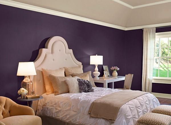 C mo combinar paredes en violeta - Colores que combinan con beige ...