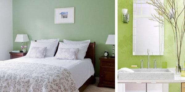 Ambientes frescos con luz y color for Colores de moda en paredes