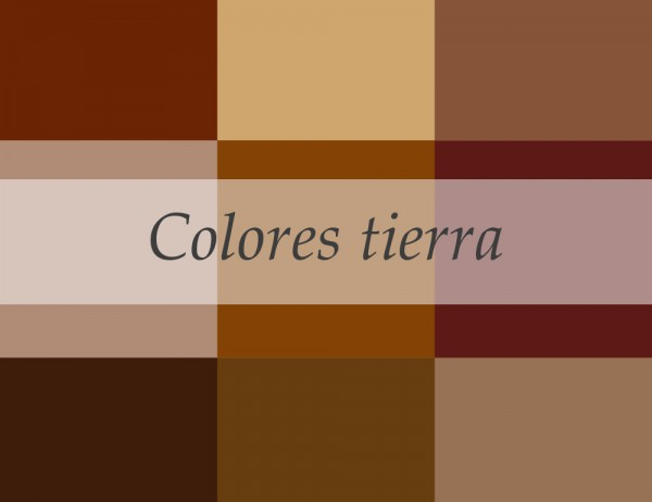 Pinta y decora en colores tierra for Colores tierra para paredes interiores