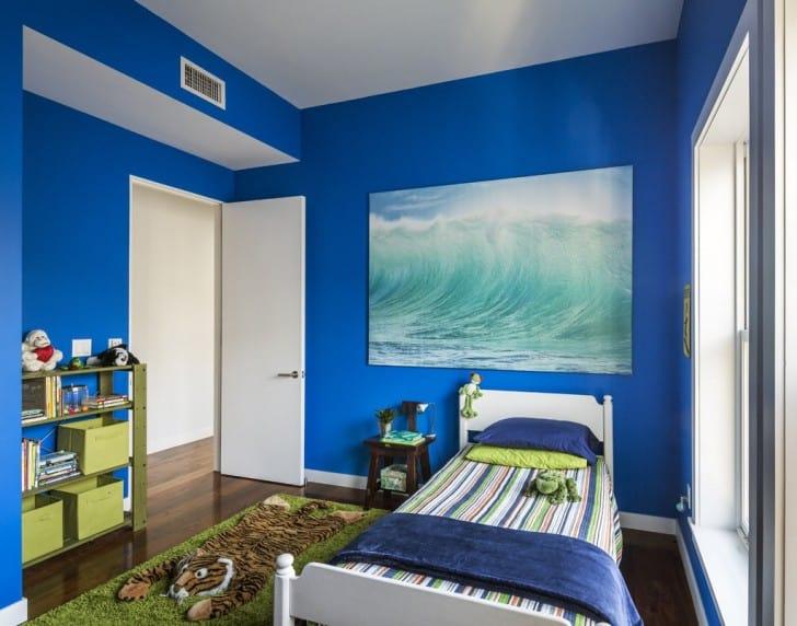 Distintos tonos de azul para pintar tu casa - De que color pintar una habitacion ...