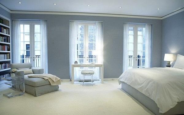 Distintos tonos de azul para pintar tu casa for Pinturas para paredes