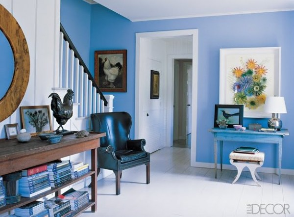 Distintos tonos de azul para pintar tu casa for Colores para decorar una casa