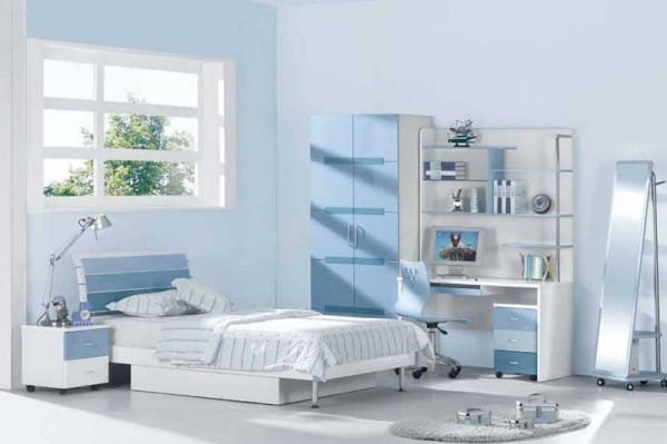 Distintos tonos de azul para pintar tu casa - Colores azules para habitaciones ...