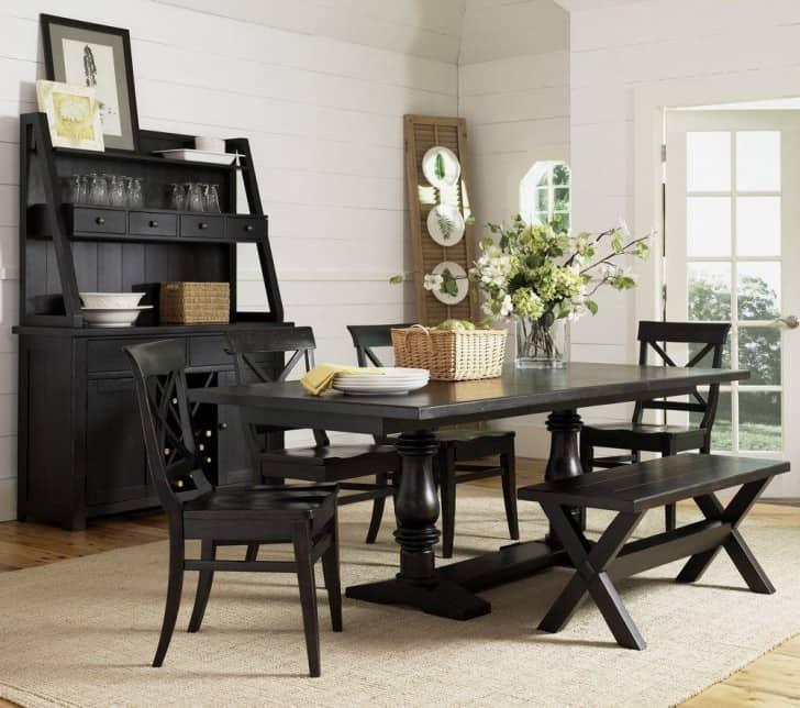 El color de las paredes con muebles negros y oscuros : PintoMiCasa.com