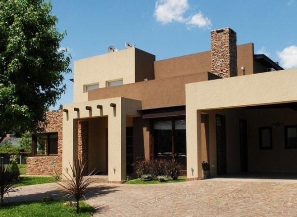 Pintando la fachada en tonos naturales - Aromatizantes naturales para la casa ...