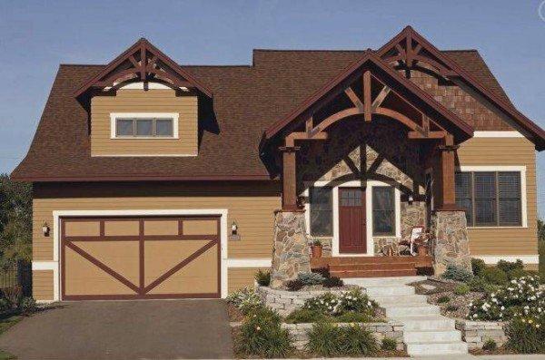 Pintando la fachada en tonos naturales for Colores modernos para exteriores