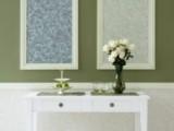 Colores en marcos y molduras sobre paredes