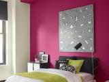 Pinta una pared en el dormitorio
