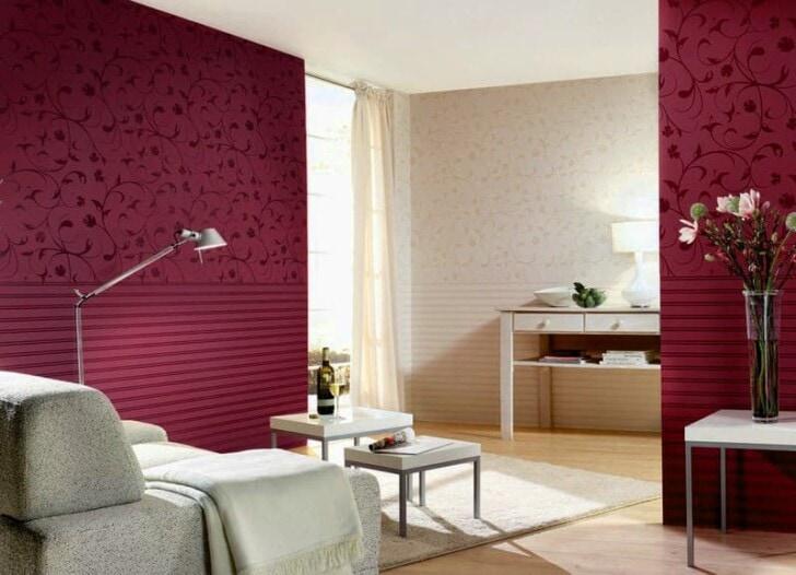 Color bord o vino tinto - Pinturas especiales para paredes ...