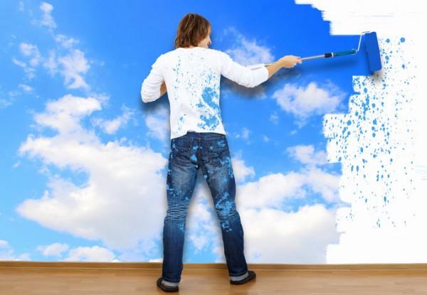 Pintura ecológica cielo