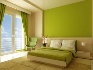 Pinta tu casa de verde pistacho